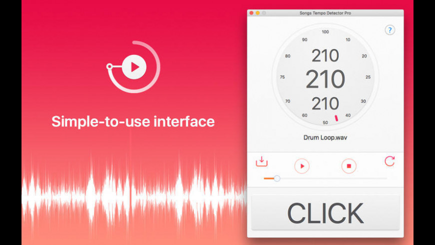 Songs Tempo Detector for Mac - review, screenshots
