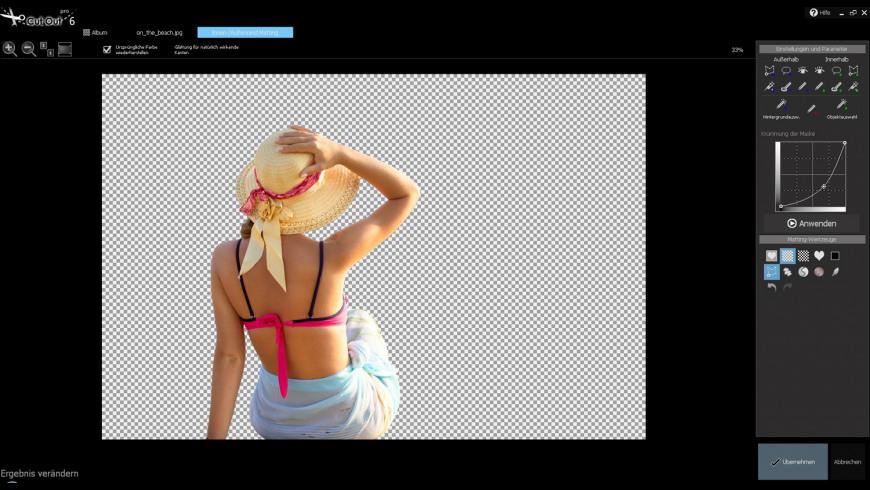 CutOut 8 professional for Mac - review, screenshots