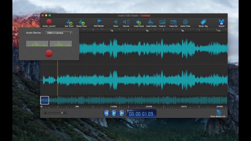 Audio Edit Studio for Mac - review, screenshots