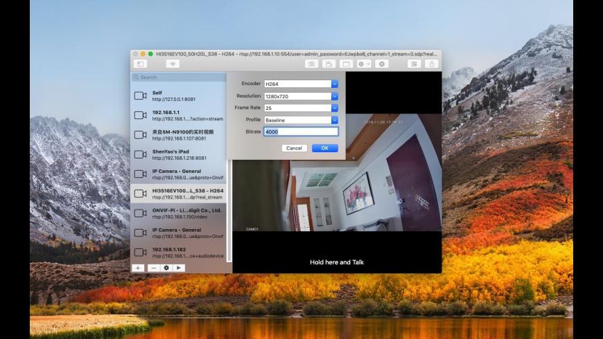 IP Camera 7 2 Free Download for Mac | MacUpdate