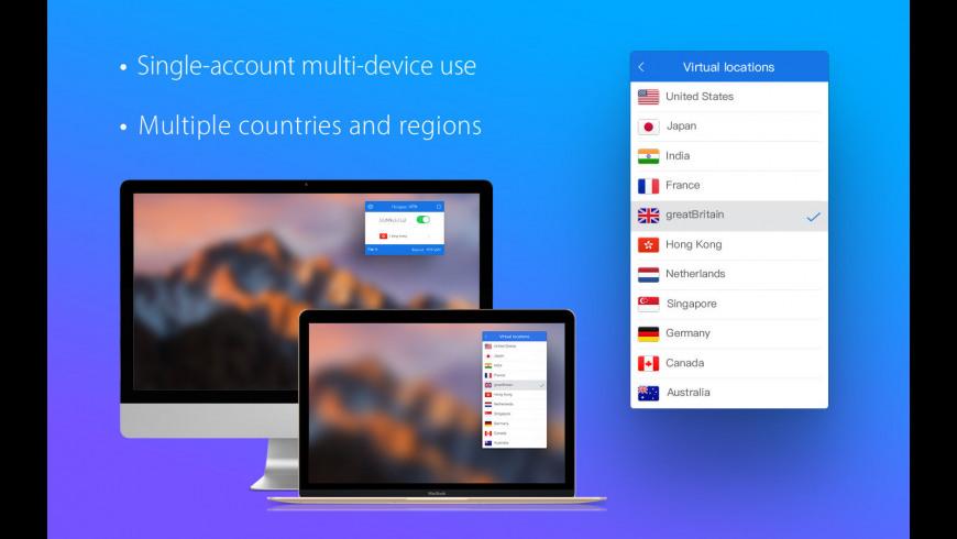 Hotspot VPN for Mac - review, screenshots