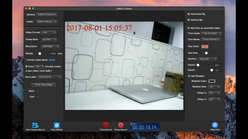 Camera Record Pro for Mac - review, screenshots