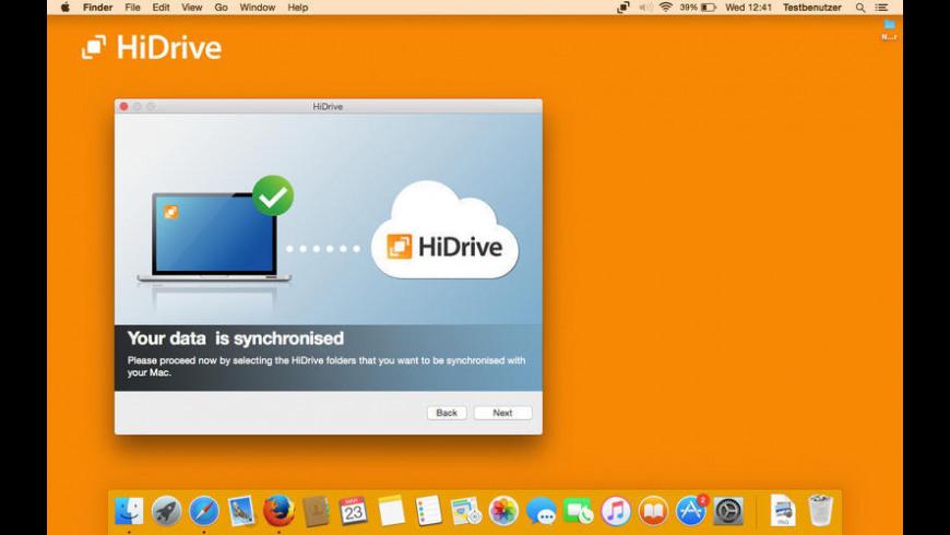 HiDrive for Mac - review, screenshots