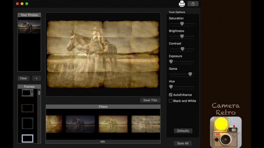 Camera Retro for Mac - review, screenshots