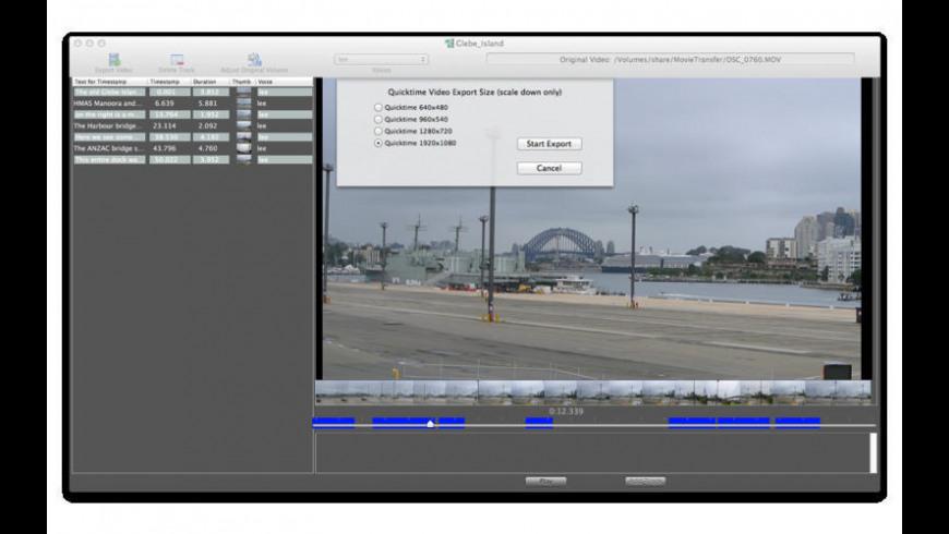 VideoSpeak for Mac - review, screenshots