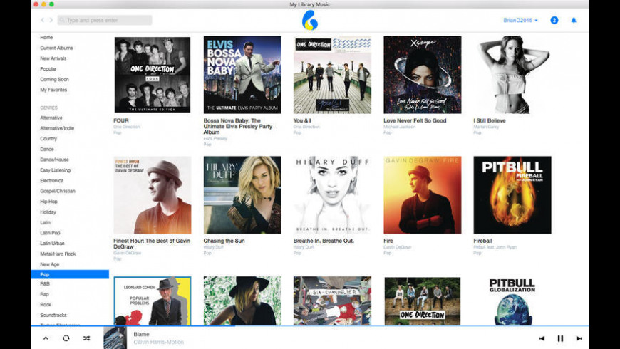 MyLibraryMusic for Mac - review, screenshots