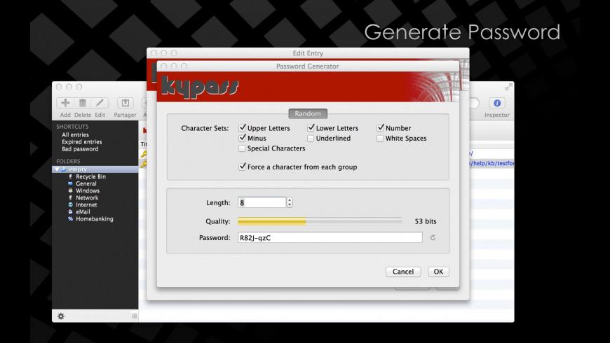 KyPass for Mac - review, screenshots