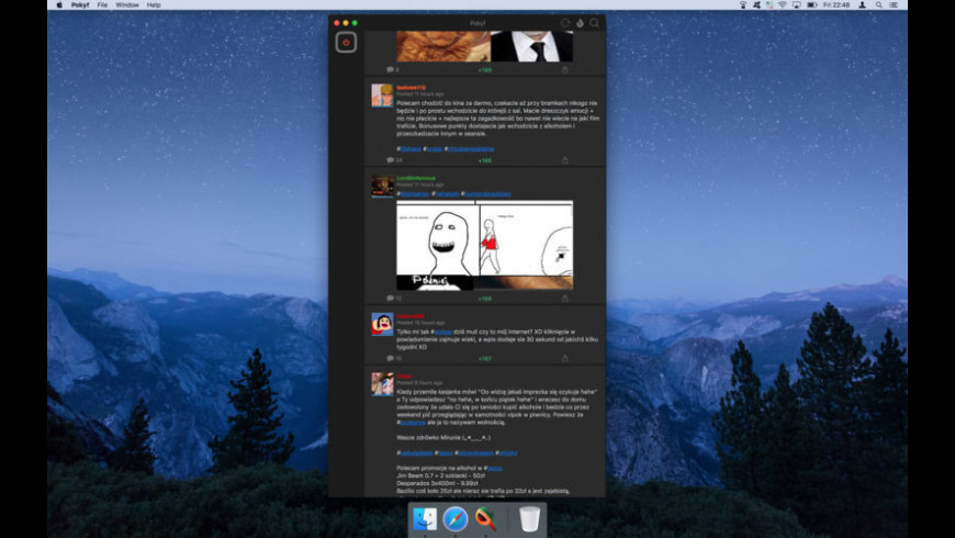 Pokyf for Mac - review, screenshots