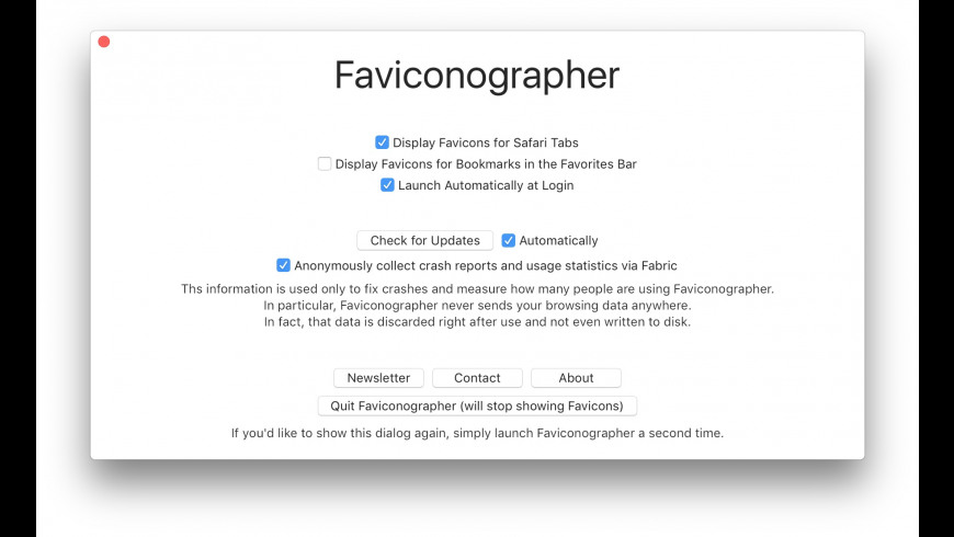 Faviconographer for Mac - review, screenshots