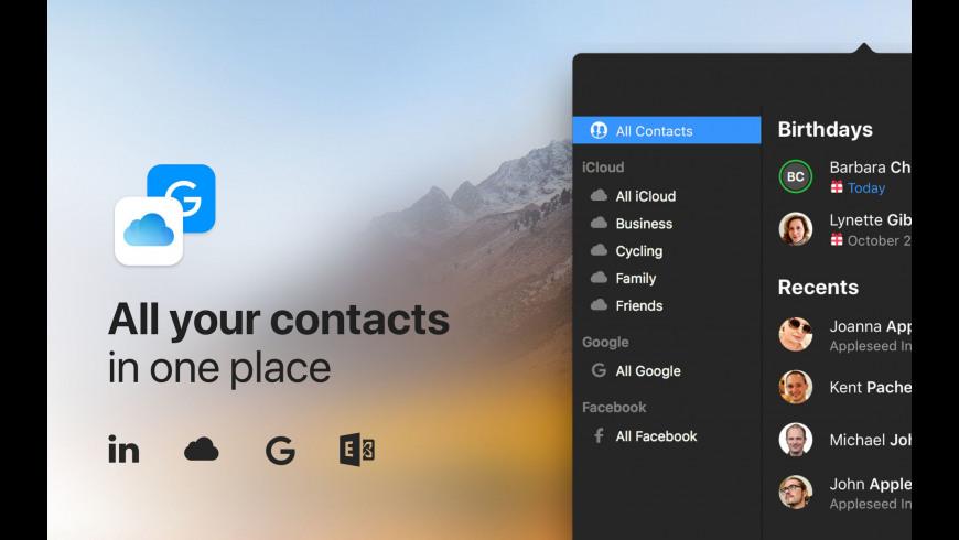 Cardhop for Mac - review, screenshots