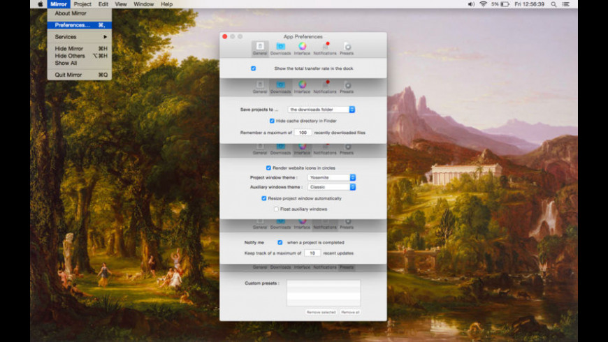 Miroir for Mac - review, screenshots