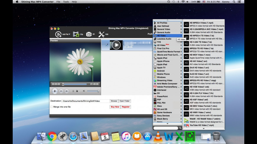 Shining MP4 Converter 6 6 6 Free Download for Mac | MacUpdate