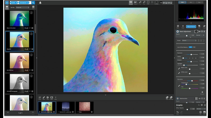 Topaz Studio for Mac - review, screenshots