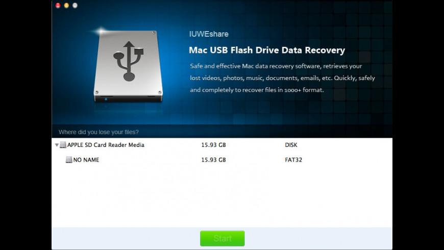 USB Flash Drive Data Recovery for Mac - review, screenshots