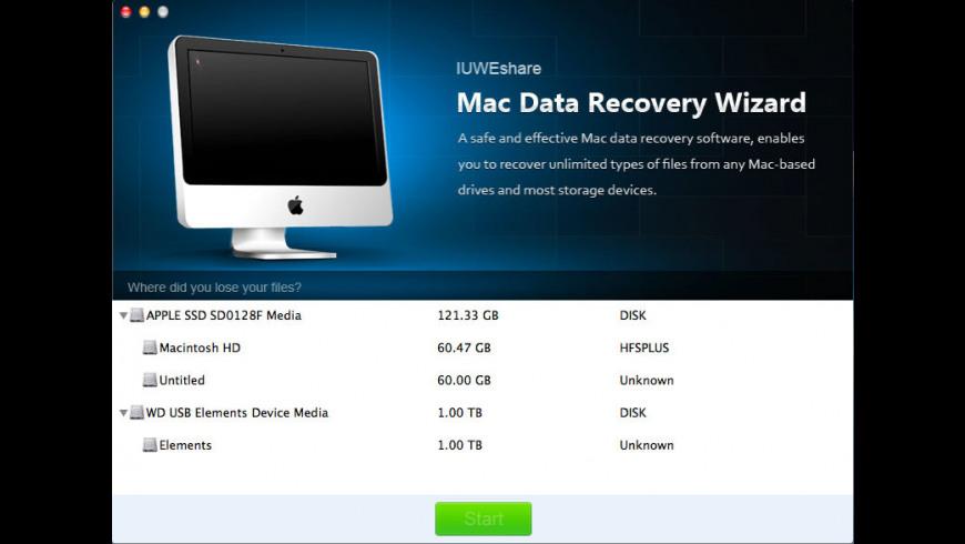 Data Recovery Wizard for Mac - review, screenshots