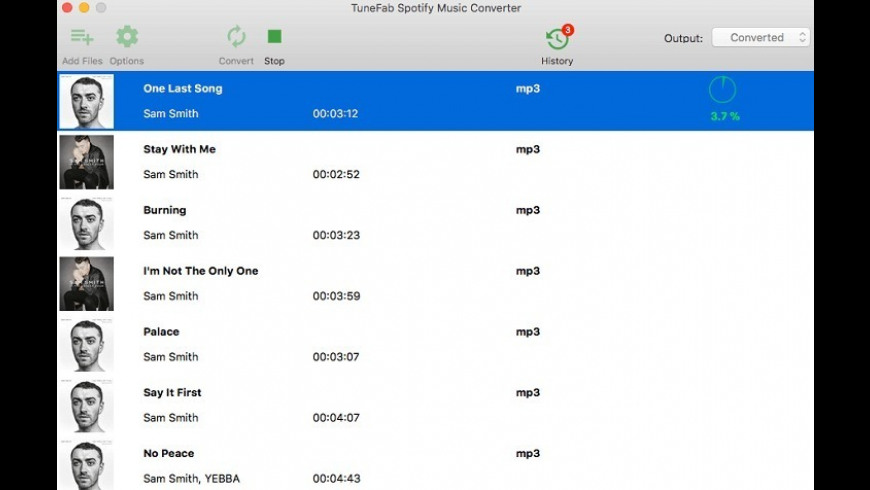 TuneFab Spotify Music Converter 2 3 4 Free Download for Mac