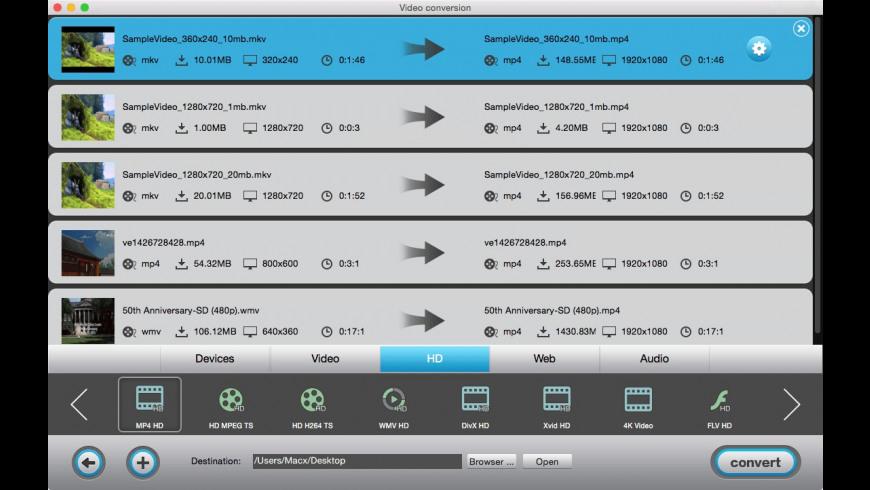 Total Video Tools for Mac - review, screenshots
