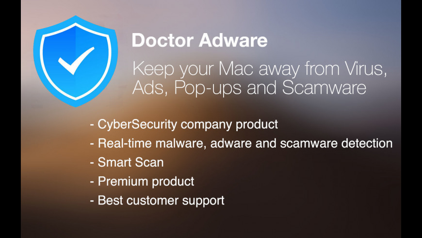 Dr Adware CB for Mac - review, screenshots