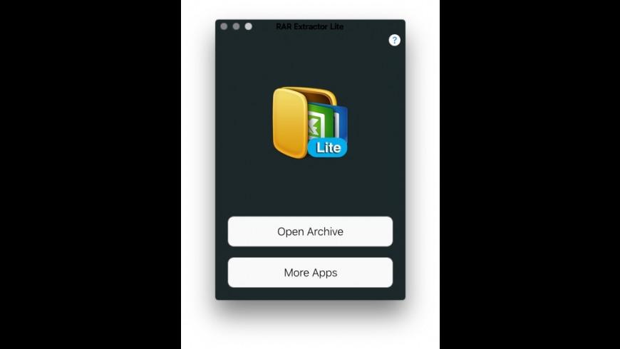 Elimisoft RAR Extractor Lite for Mac - review, screenshots