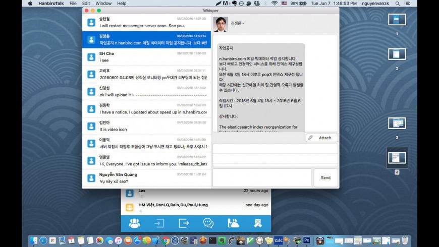 MofficeTalk for Mac - review, screenshots
