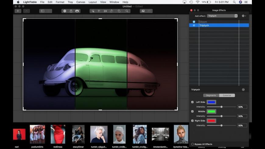 LightTable SX for Mac - review, screenshots
