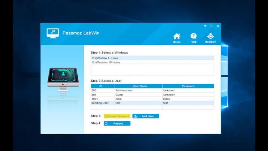 PassMoz LabWin for Mac - review, screenshots