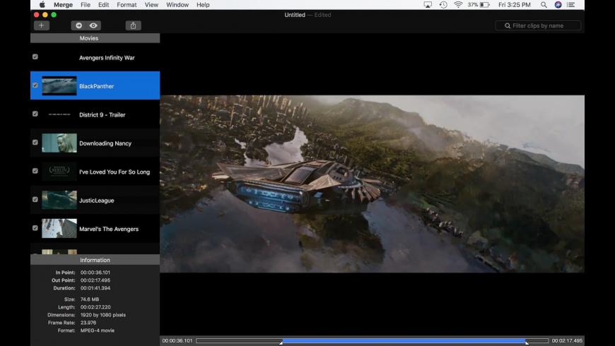 Merge SX for Mac - review, screenshots