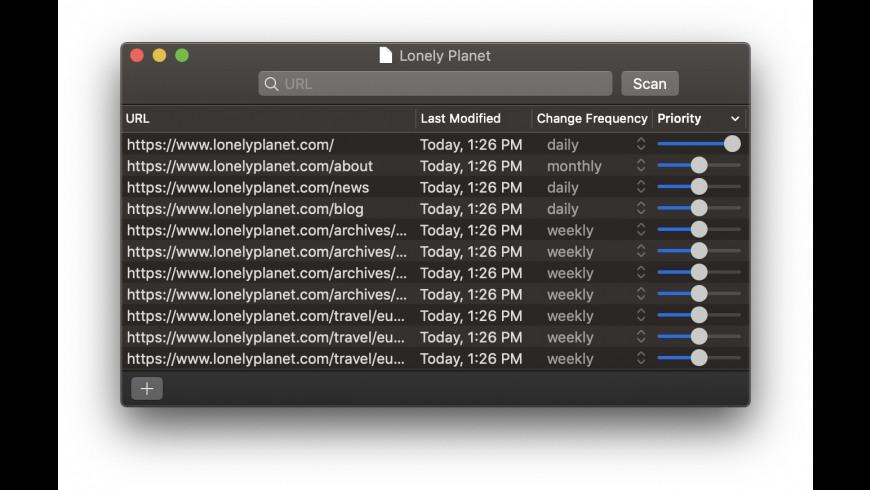 WebMap for Mac - review, screenshots