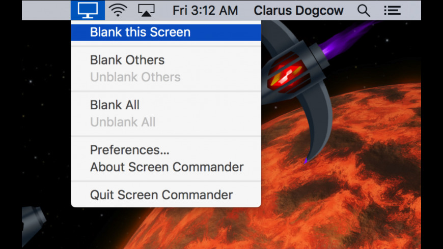 Screen Commander for Mac - review, screenshots