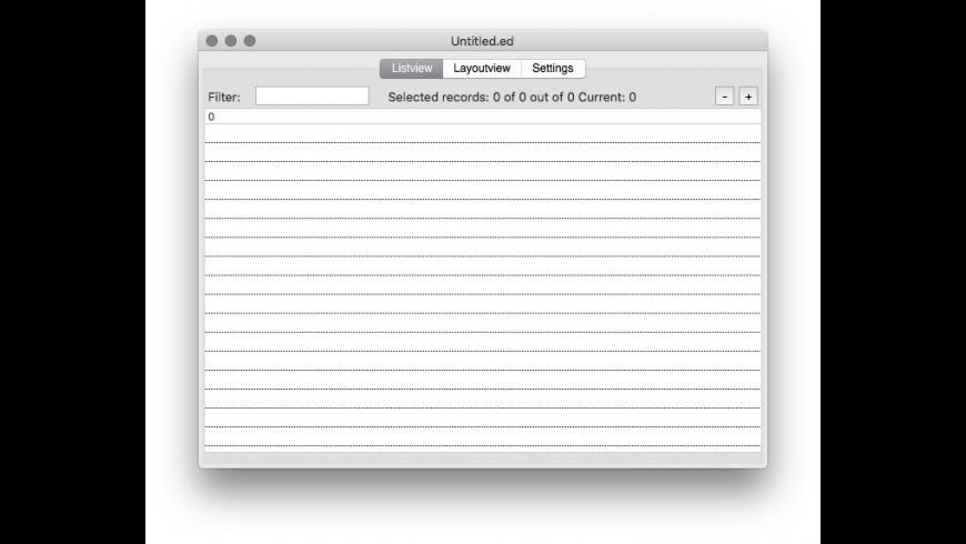 EagleData for Mac - review, screenshots