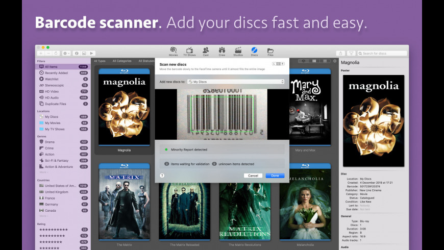 Movie Explorer Pro for Mac - review, screenshots
