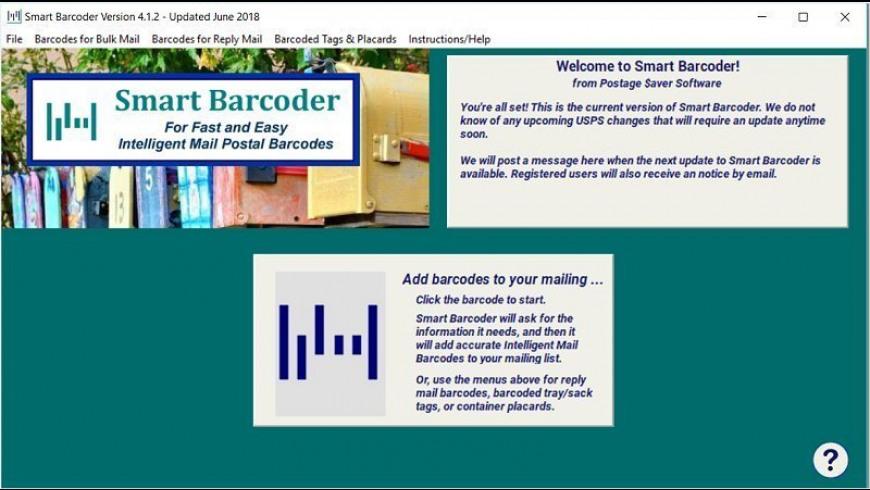 Smart Barcoder for Mac - review, screenshots