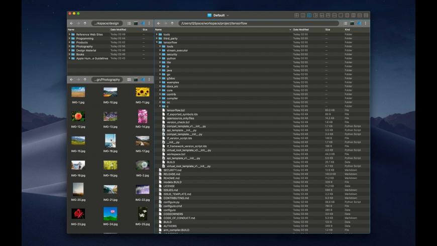 QSpace for Mac - review, screenshots