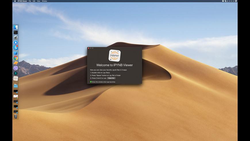 IPYNB Viewer for Mac - review, screenshots