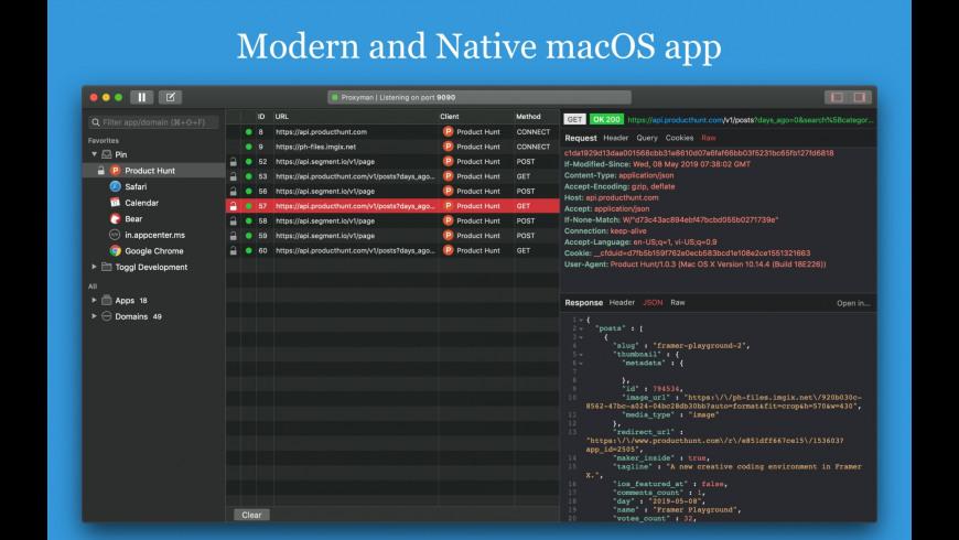 Proxyman for Mac - review, screenshots