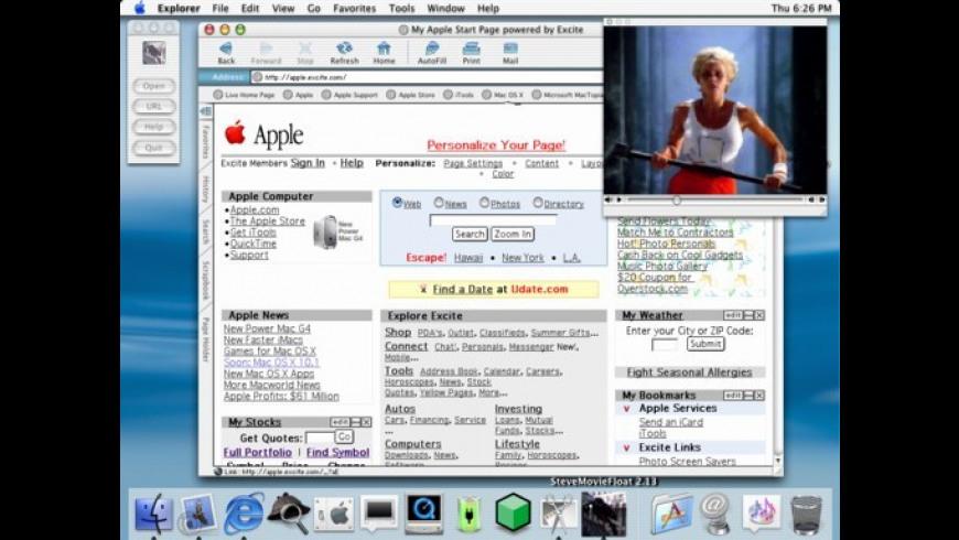 SteveMovieFloat X for Mac - review, screenshots