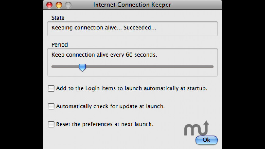 Internet Connection Keeper for Mac - review, screenshots