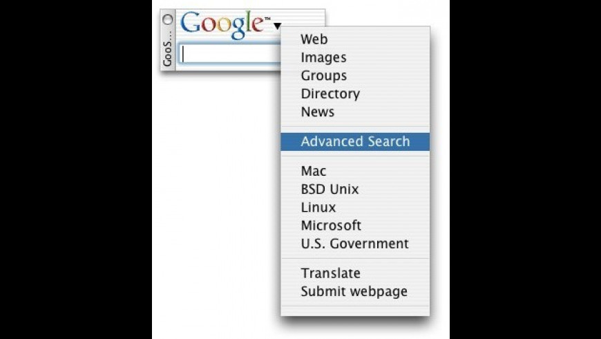 GooSearch X for Mac - review, screenshots