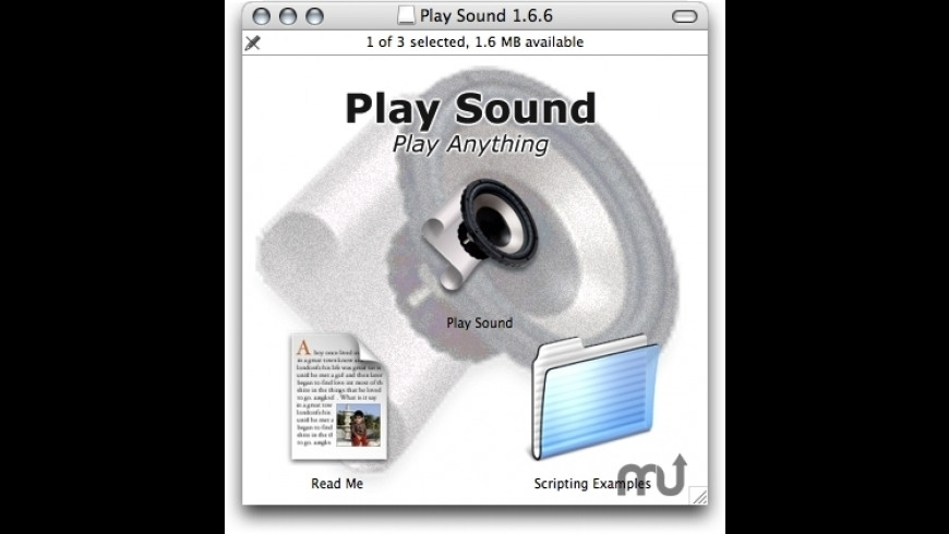 Play Sound for Mac - review, screenshots