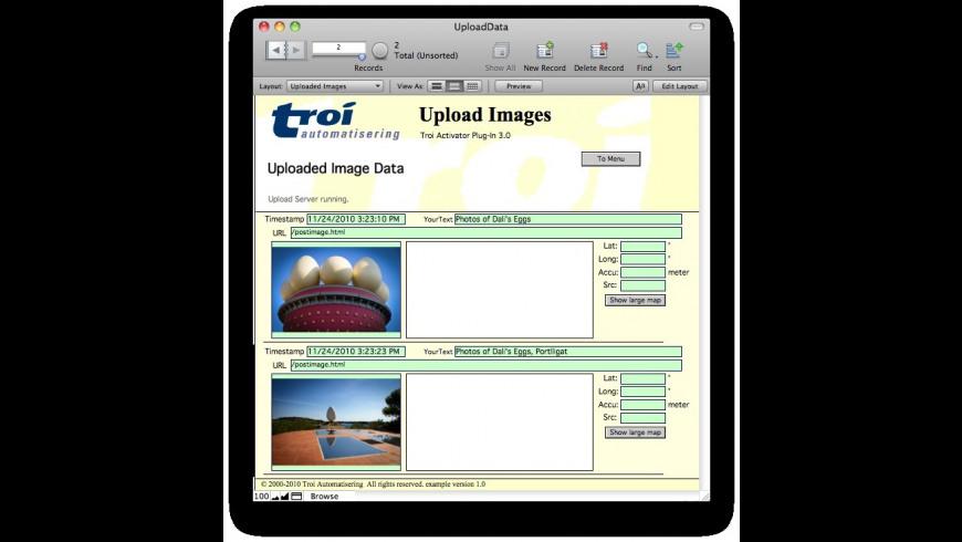 Troi URL Plug-in for Mac - review, screenshots