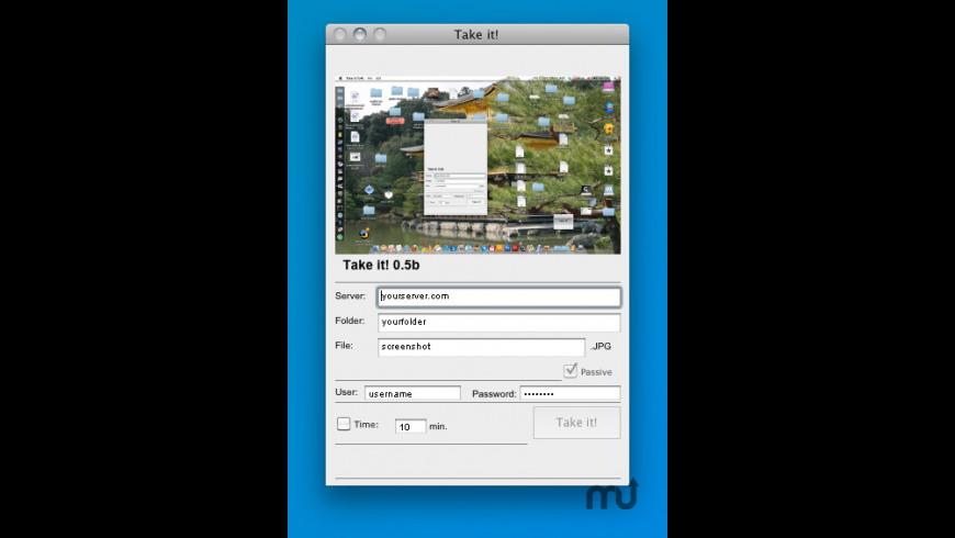 Take it! for Mac - review, screenshots