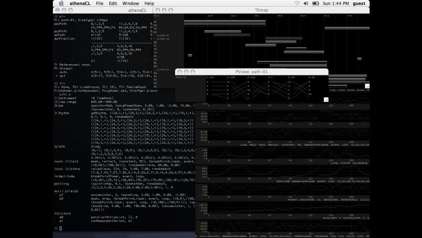 athenaCL for Mac - review, screenshots