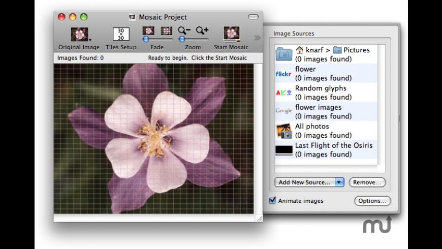 MacOSaiX for Mac - review, screenshots