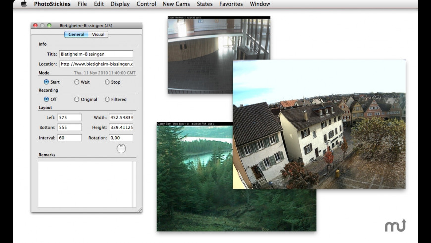 PhotoStickies for Mac - review, screenshots