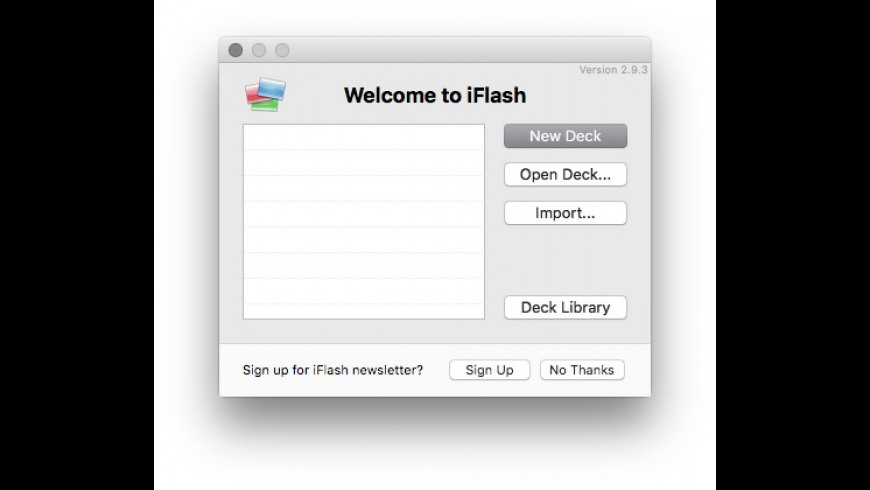 iFlash for Mac - review, screenshots